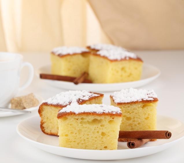 tarta elaborada con kefir