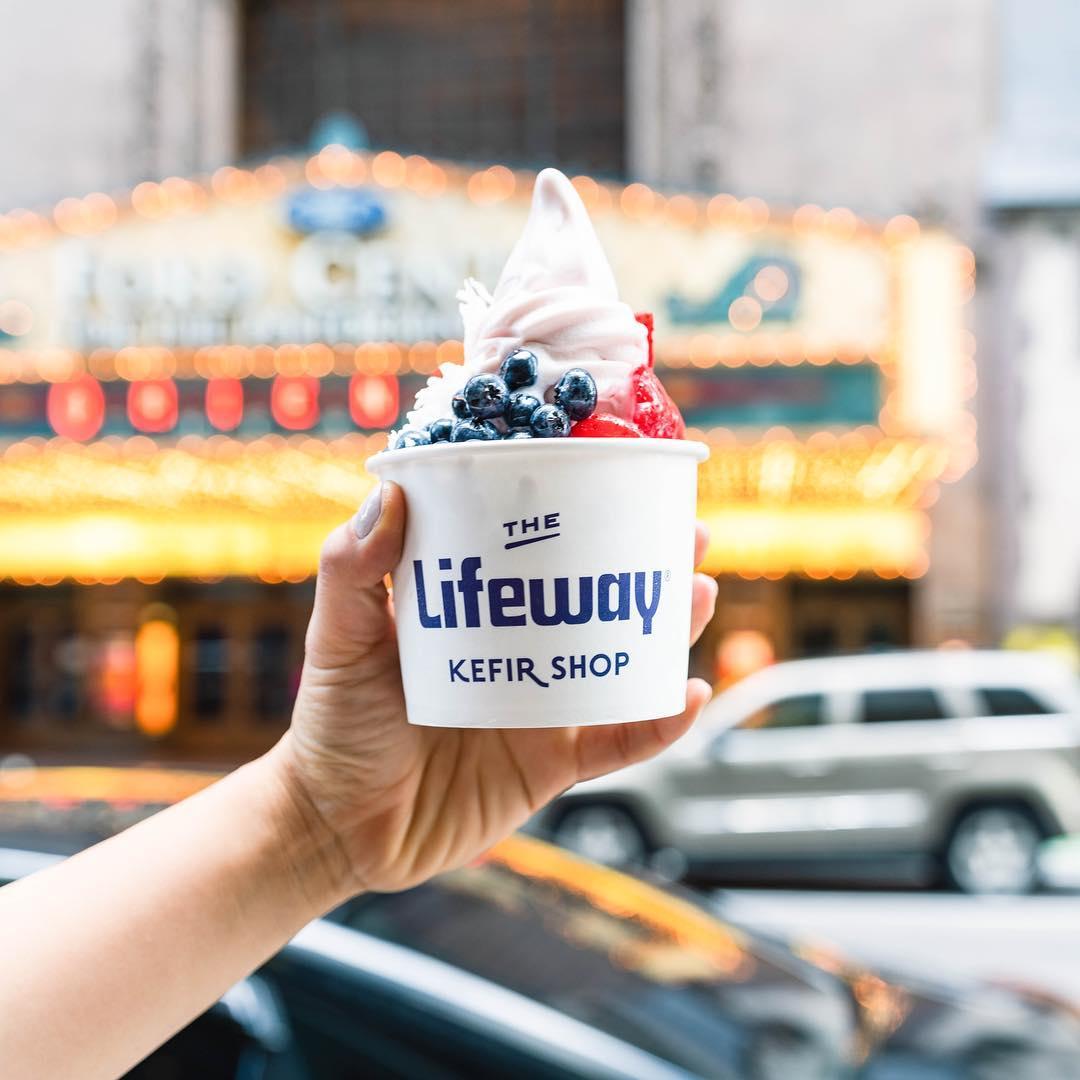 comprar kefir helado