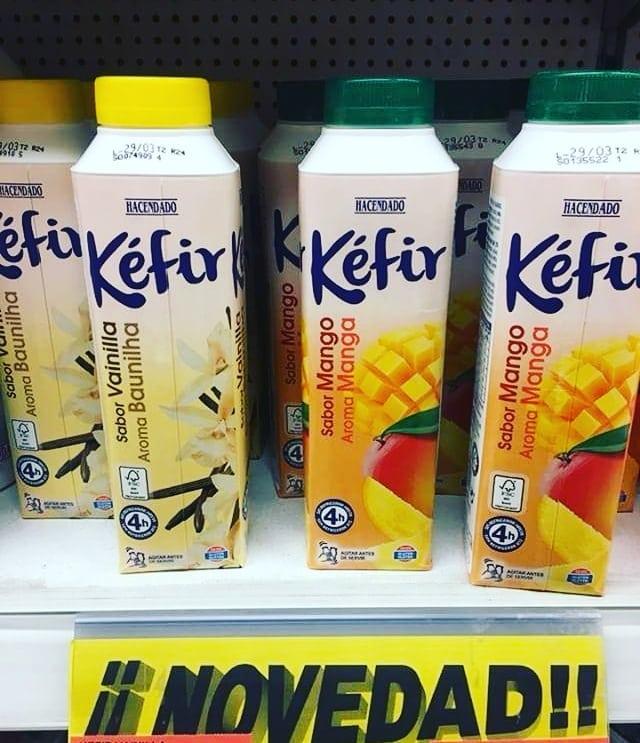 kefir mercadona de mango