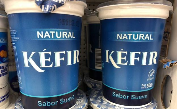 kefir sabor natural