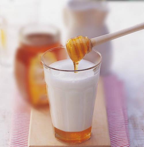 leche de kefir con miel