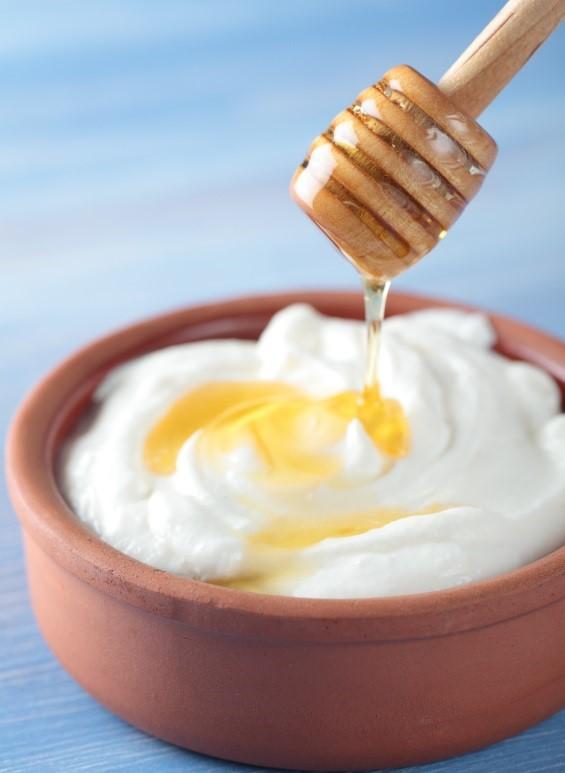 mascarilla de kefir y miel