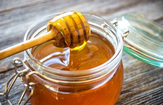 miel en tarro