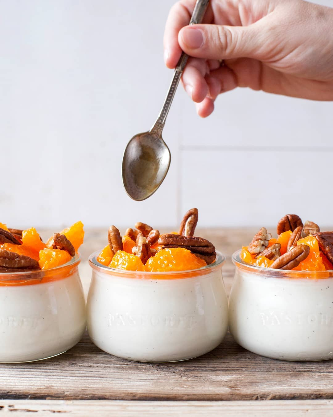 yogurt de kefir con frutas